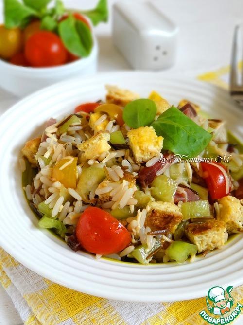 салат закуска с рисом рецепт