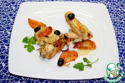 Запечённая курица по-провански вкусный пошаговый рецепт с фото как приготовить #10