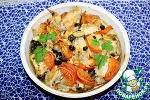 Запечённая курица по-провански вкусный пошаговый рецепт с фото как приготовить на Новый Год