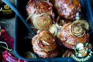 Рецепт Запеченные куриные бедрышки