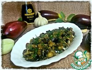 Рецепт Жареные баклажаны с соусом