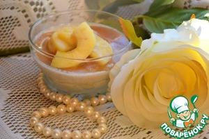 Рецепт Кофейное парфе с карамельными яблоками
