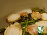 Рийет из свинины на французском багете Рийет