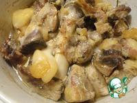 Рийет из свинины на французском багете Тимьян