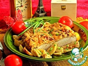 Рецепт Куриная грудка по-французски