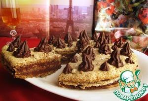 Как приготовить Фундучный дакуаз с шоколадом от Пьера Эрме домашний рецепт с фотографиями