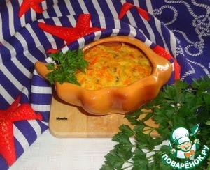 Рецепт Морковно-рыбное суфле