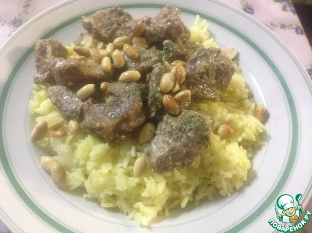 Плов с мясом рецепт с фото пошагово в кастрюле с рисом и мясом