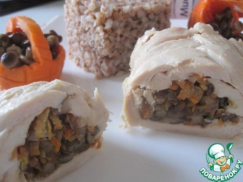 Как приготовить Плетенка из мяса простой рецепт с фото пошагово #18