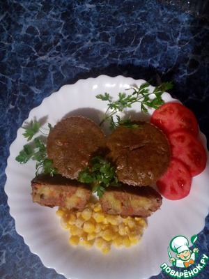 Рецепт Кексы из куриной печени