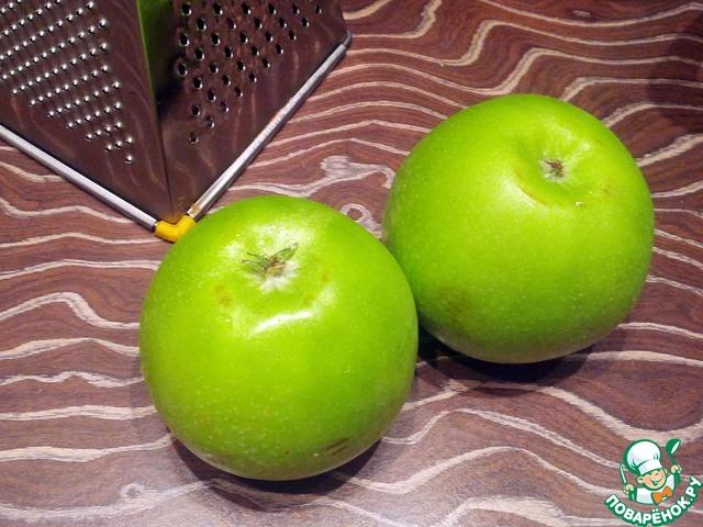 Как приготовить Оладьи из рисовой муки с яблоком домашний рецепт с фотографиями пошагово #1