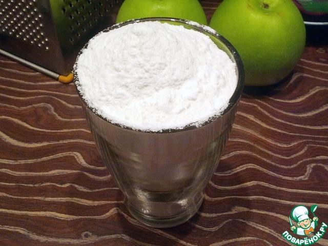 Как приготовить Оладьи из рисовой муки с яблоком домашний рецепт с фотографиями пошагово #3