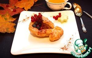 Рецепт Тарт Татен порционный из груши
