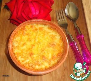 Рецепт Гратин из фарша и рисовых хлопьев