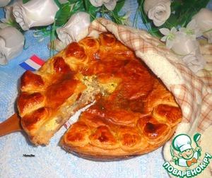 Рецепт Винный пирог по-эльзасски