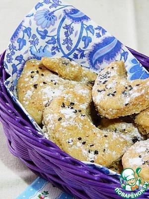 Рецепт Быстрое печенье на вине