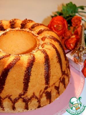 Рецепт Простой французский бисквит
