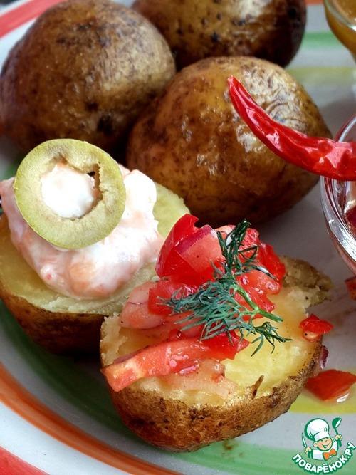 Картошка печенкой рецепт с фото