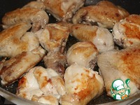 Курица под соусом quot;Пикантquot; ингредиенты