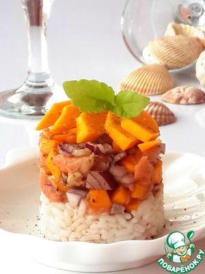 Рецепт Тартар из лосося и манго