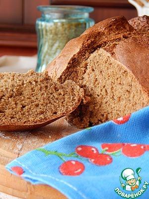 Рецепт Бездрожжевой овсяной хлеб