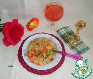 Рецепт Рагу овощное с болгарским перцем