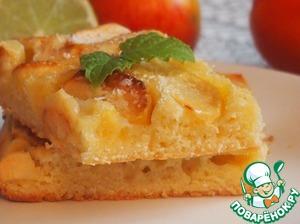 Рецепт Кокосово-яблочный пирог