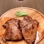 Говяжий стейк, маринованный в соусе терияки