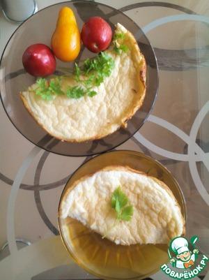 Рецепт Классический французский омлет-суфле