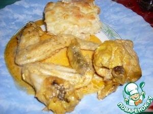 Рецепт Курица с шафраном