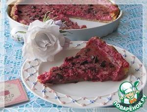 Рецепт Тарт с малиново-сливочным кремом