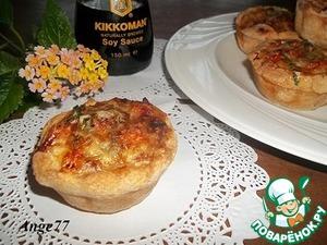 Рецепт Мини-киш с кабачком