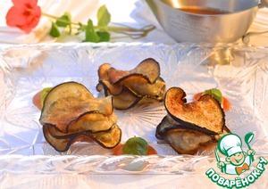 Рецепт Канапе из баклажанов
