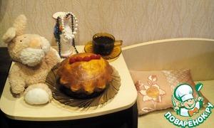 Рецепт Французский сладкий хлеб на закваске