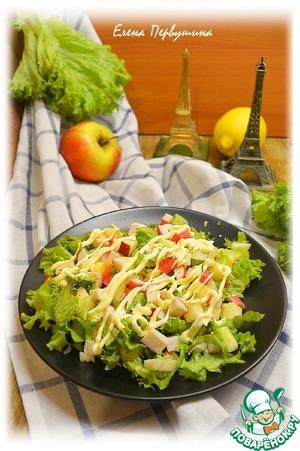 Рецепт Крабовый салат из Марселя