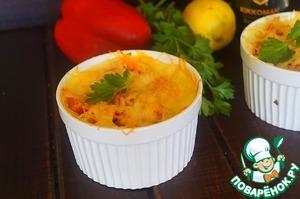Рецепт Картофельные мини запеканки с мясом