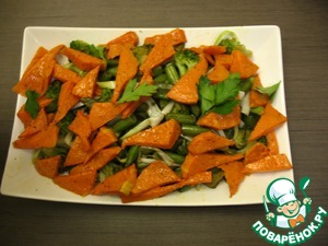 Рецепт Тыква с овощами в китайском стиле