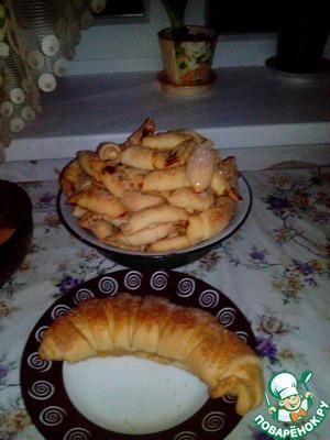 Как готовить рецепт с фото Рогалики