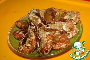 Рецепт Креветки, жаренные с соевым соусом