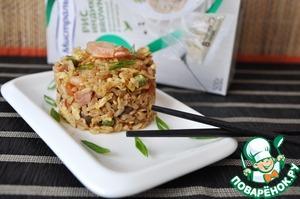 Рецепт Жаренный рис по-янчжоуски