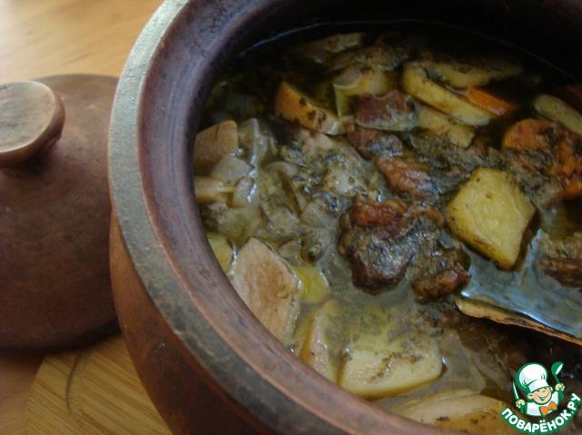 Свинина с черносливом в духовке  пошаговый рецепт с фото