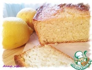 Рецепт Лимонный кекс с рикоттой