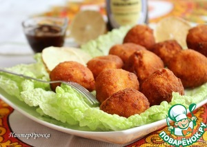 Рецепт Шарики из курицы и сыра
