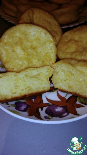 Рецепт Сырные маффины на кефире