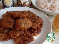 Отбивные из куриных сердечек в соево-чесночном маринаде ингредиенты