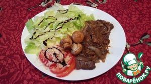 Рецепт Говядина в кунжутно-соевом соусе для детей и родителей