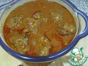 Рецепт Тефтели из говяжьего фарша с сыром и кедровыми орешками