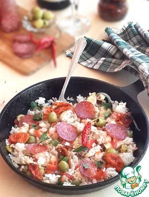 Рецепт Горячая сковорода в итальянском стиле