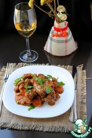 Рецепт Томленая говядина