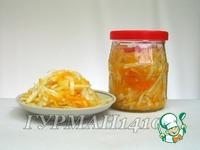 Быстрая квашеная капуста с апельсином ингредиенты